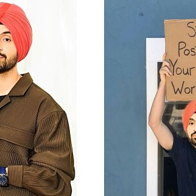 Diljit Dosanjh's latest post about people sharing gym routines amid quaratine is a 'mood'