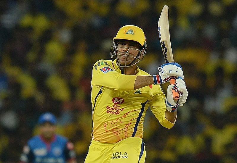 Watch: MS Dhoni creates havoc in net session, Thala hits five sixes in row