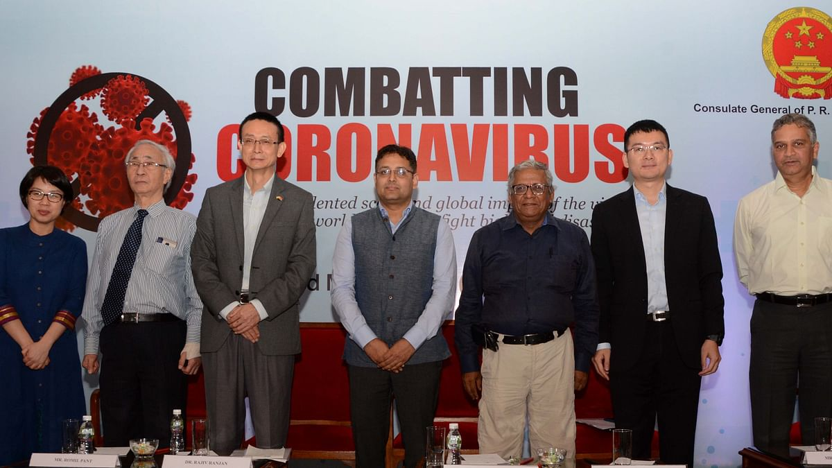 A panel discussion on 'Combatting Coronavirus' was held in Mumbai recently.