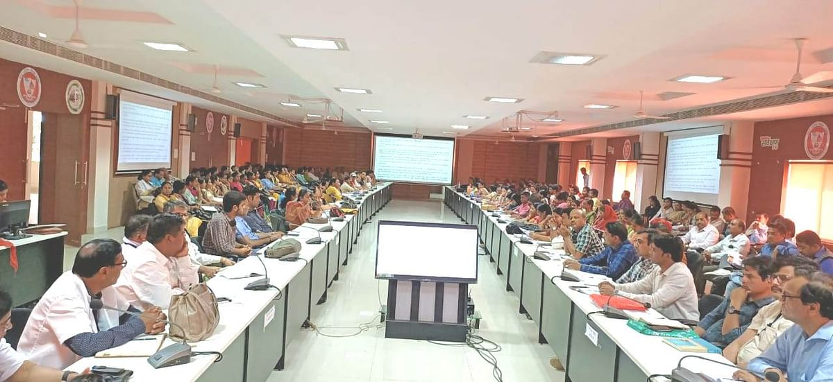 Ujjain: Coronavirus takes the centre stage