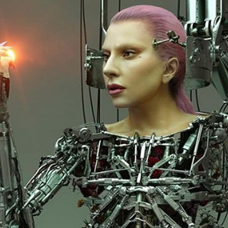 Lady Gaga goes nude in 'Cyborg' avatar for magazine's latest cover