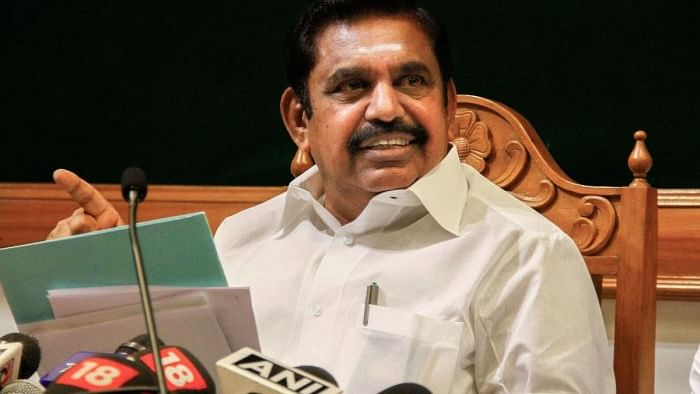 Tamil Nadu Chief Minister Edappadi K Palaniswami.