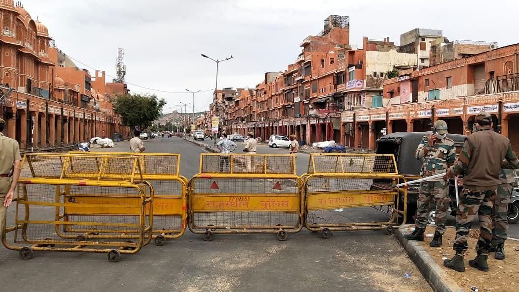 Coronavirus in Rajasthan: 1st corona death in Bhilwara, lockdown enforced better on Day 3