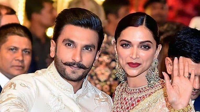 Bollywood's star couple Ranveer Singh and Deepika Padukone