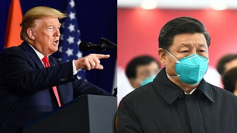 CoVID-19 originated from China's Wuhan lab, claims Trump