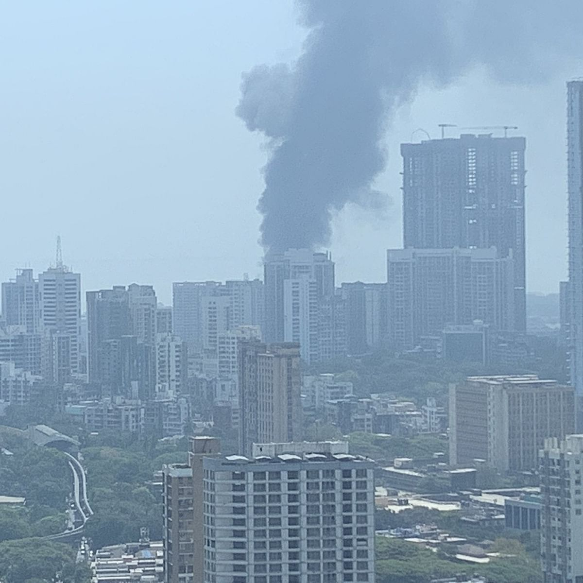 Mumbai: Fire breaks out in godown in Sewri, no casualties and injuries reported