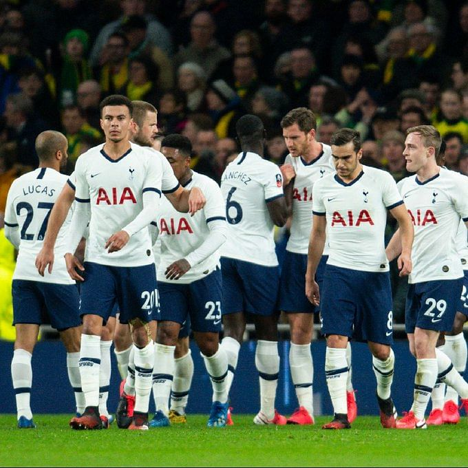 FA Cup: Tottenham Hotspurs crash out; Man City, Leicester advances to quarter-finals