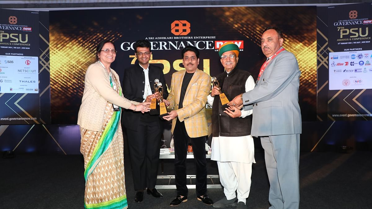 BHEL wins Governance Now PSU Awards 2020 in three categories