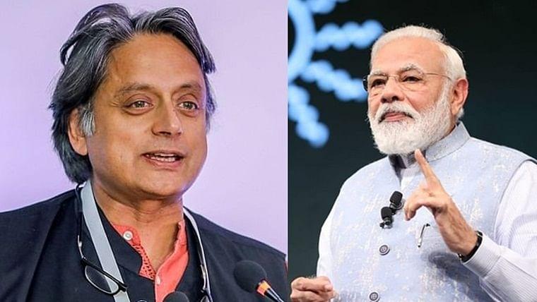 Shashi Tharoor has his own hot take on PM Modi's social media googly