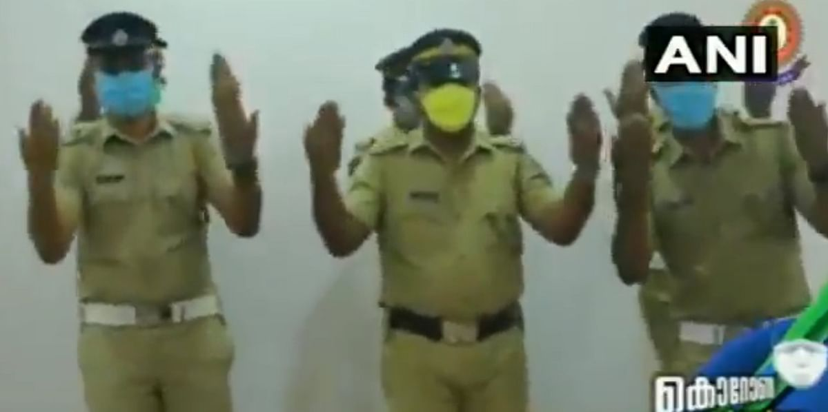 Kerala Police groove to raise awareness for washing of hands amidst coronavirus pandemic, video goes viral