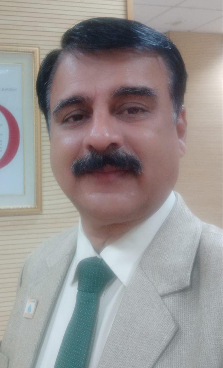 Geologist Sudhindra Mohan Sharma