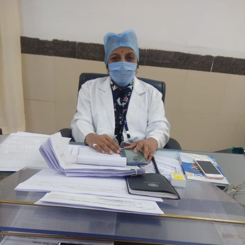 Corona Warrior: A lady doctor from Ujjain is going after coronavirus against all odds