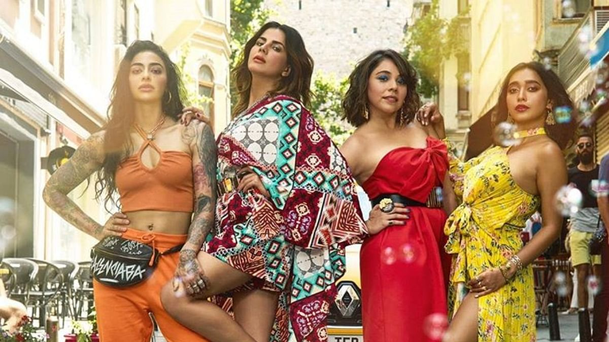 Bani J, Kirti Kulhari, Maanvi Gagroo and Sayani Gupta in Four More Shots Please!