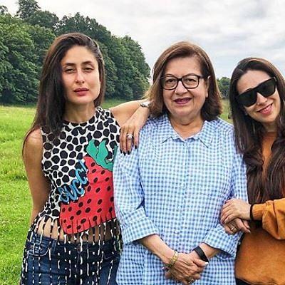 After Kareena, Karisma Kapoor shares an emotional post on mother Babita's birthday