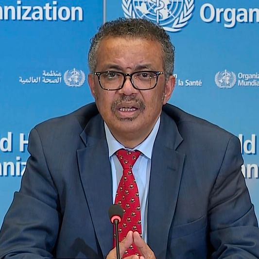 WHO chief Tedros Adhanom Ghebreyesus under self-quarantine after contact tests COVID-19 positive