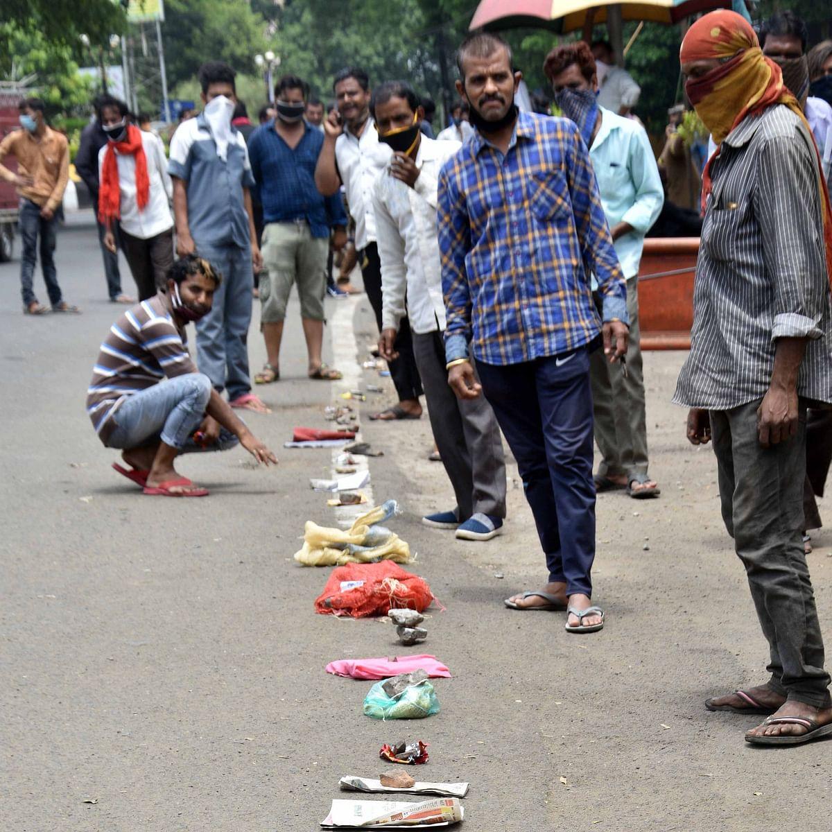 Bhopal: Vendors' queue to collect e-pass at Mata Mandir sends BMC into a tizzy