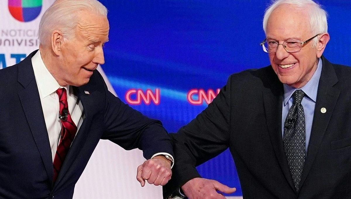 Biden with Sanders