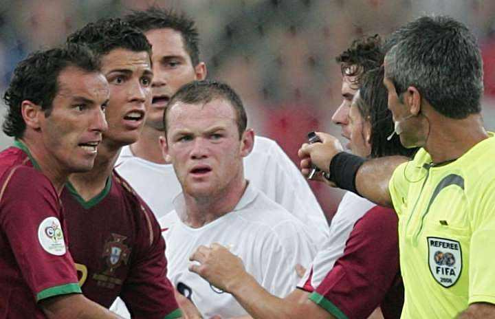 Wayne Rooney reveals how Cristiano Ronaldo was involved in his red card during England vs Portugal in 2006 World Cup