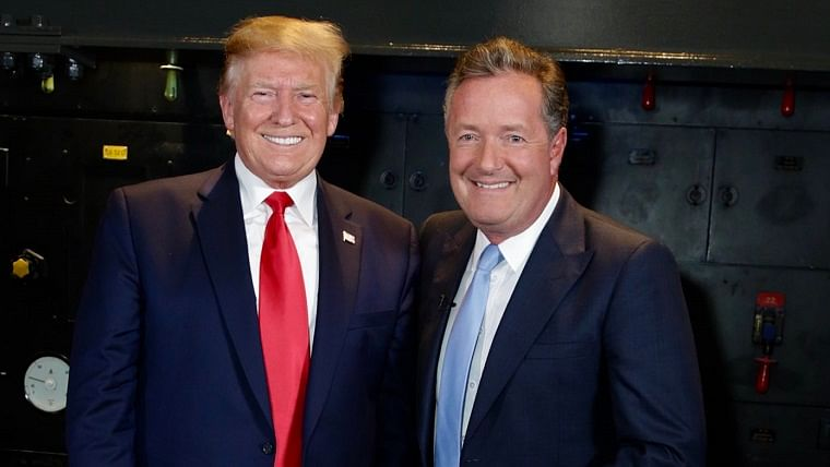 Piers Morgan unfollowed on Twitter by his 'friend' Donald Trump allegedly after criticising the President's 'batsh*t crazy' coronavirus theories