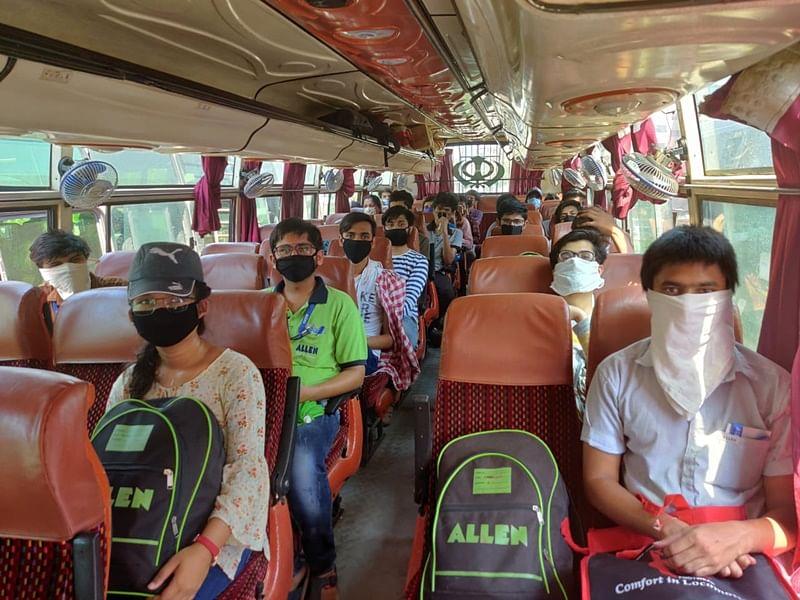 Latest coronavirus update: Madhya Pradesh student from Rajasthan leave for their home