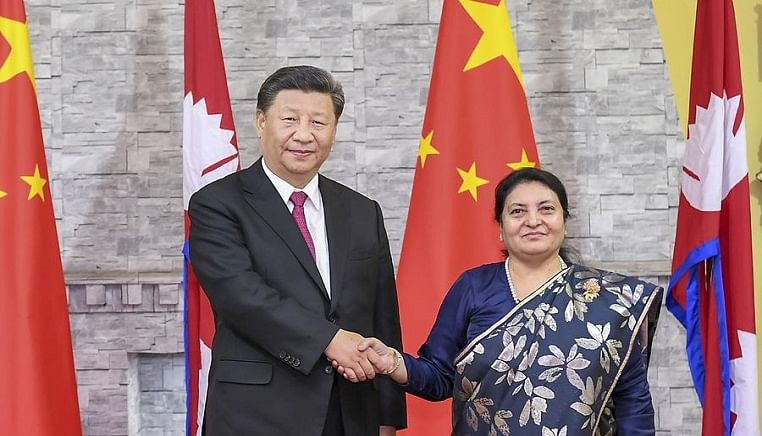 Xi says China to continue offering firm support to Nepal's COVID-19 fight