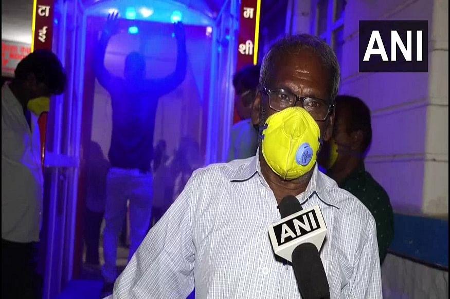 Madhya Pradesh: Naharu Khan creates automatic sanitising machine, donates to hospital