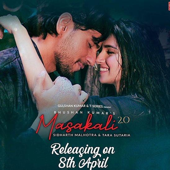 Sidharth Malhotra, Tara Sutaria reunite for Sonam Kapoor's 'Masakali' 2.0 version