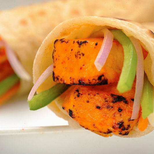 Coronavirus Lockdown Nutrition: Paneer Tikka roll, taste of street food but healthy