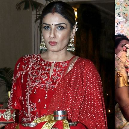 'Wonder what was served in the buffet': Raveena Tandon slams 'VIP entitlement' of Kumaraswamy's son for grand wedding amid lockdown