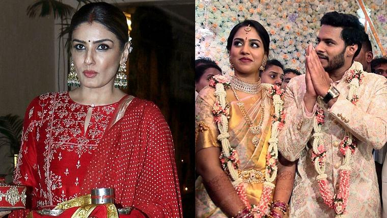 'Wonder what was served in the buffet': Raveena Tandon slams 'VIP entitlement' of Kumaraswamy's son for grand wedding amid lockdown