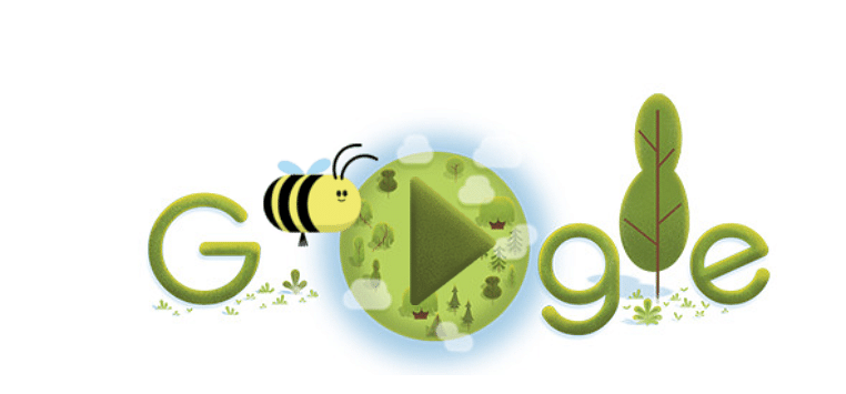 Earth Day 2020: Google Doodle celebrates most important creature - The Bee!