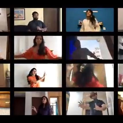Watch: Couple surprised by friends with virtual sangeet after wedding gets postponed amid COVID-19 lockdown