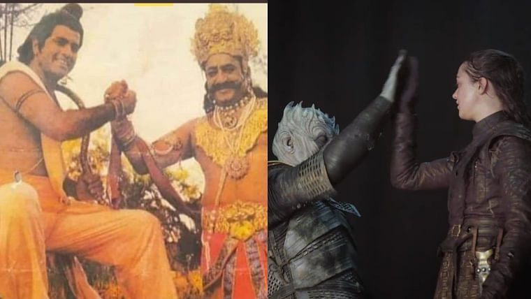 This post-shooting scene from Ramayana is reminding Twitter of Arya and Night King from Game of Thrones
