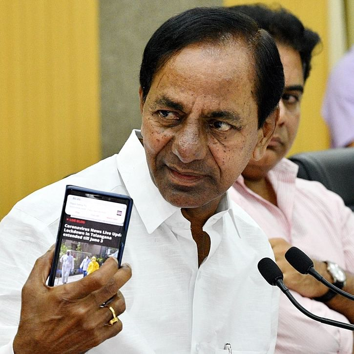K Chandrashekar Rao extends lockdown, says decision on opening shops in Hyderabad after May 15