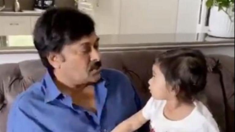 Chiranjeevi shares adorable throwback video with granddaughter Navishka Konidela, Kajal Aggarwal is all hearts