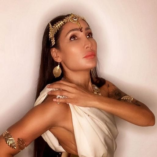 'Bigg Boss' fame Sofia Hayat defends her nude pics with Om Symbol, calls herself 'Goddess'