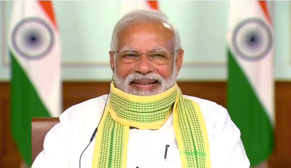PM Modi lauds working of Farmer Producer Organization scheme in Maharashtra, asks Sarpanch to use digital platforms for farmers' benefit