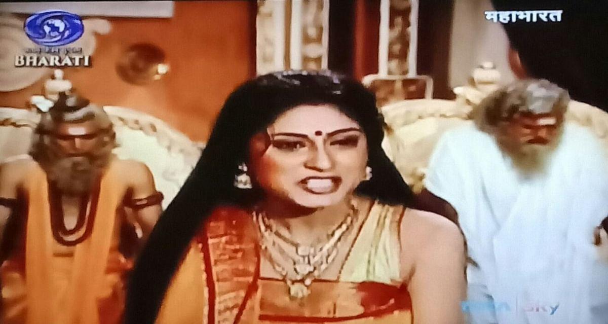 Twitterati get goosebumps while watching Draupadi's iconic cheer-haran scene in Mahabharat