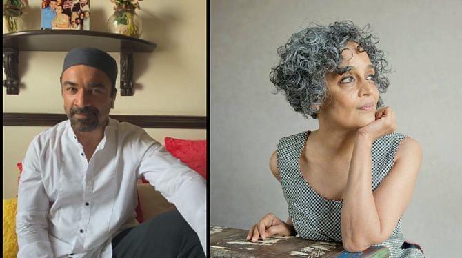 Ashoke Pandit demands arrest of 'virus' Arundhati Roy, calls her 'sophisticated' Ajaz Khan