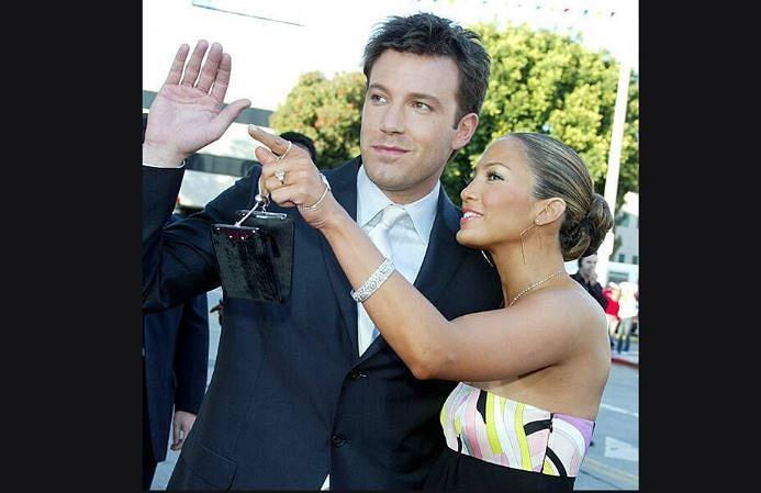 Jennifer Lopez looks back at 2002 engagement ring from Ben Affleck