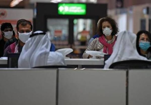 Coronavirus update: Indians stuck at UAE airport make benches their home