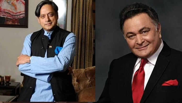 When a young Rishi Kapoor asked Shashi Tharoor his caste