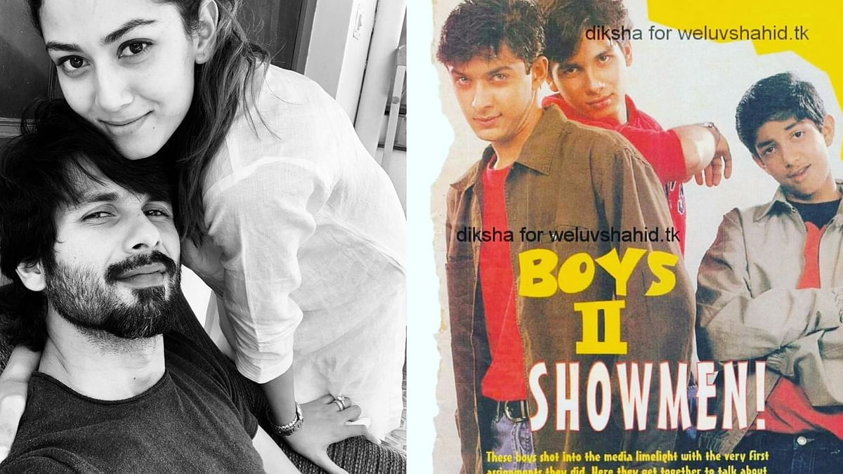 Shahid Kapoor's wife Mira takes sweet revenge from husband as she shares a rare throwback pic