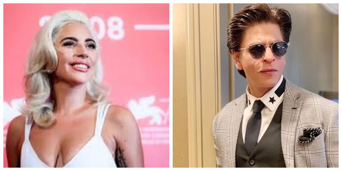 Watch: Lady Gaga cheers for SRK during her COVID-19 relief concert, video goes viral on the internet