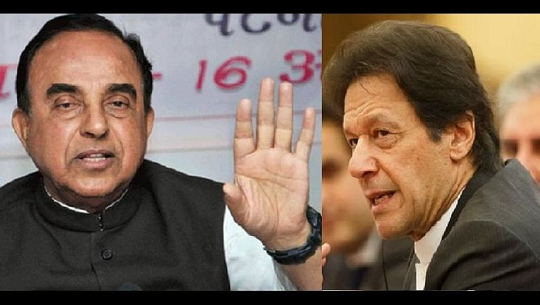 'He obviously has no work...': Subramanian Swamy slams Imran Khan for tweeting video to complain about 'fascist' RSS amid pandemic