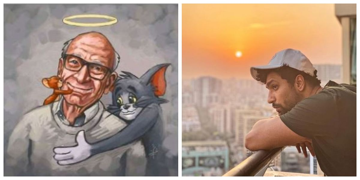 Vicky Kaushal on Tuesday remembered Gene Deitch, director of iconic cartoon series 'Tom and Jerry,' and 'Popeye the Sailor', who passed away recently.