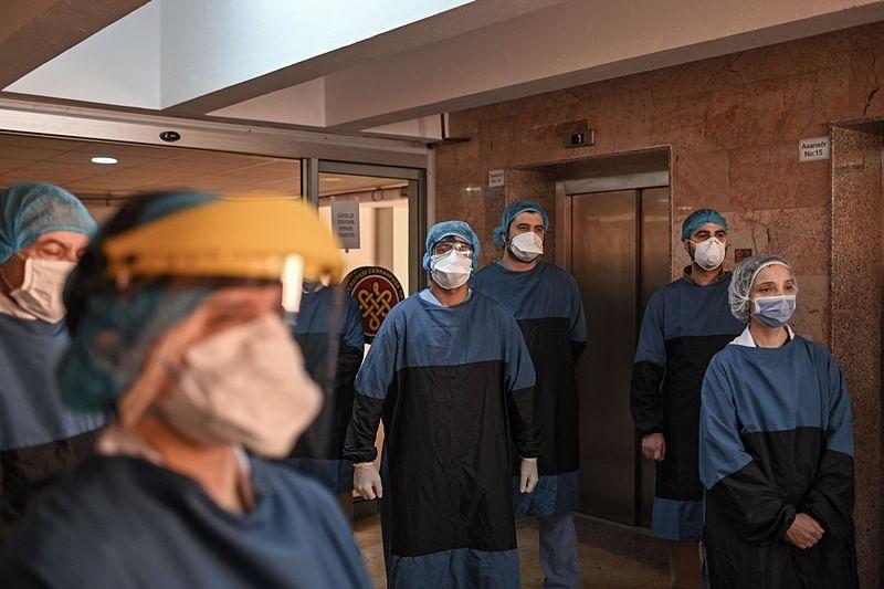 Coronavirus update: Virus death toll tops 100,000 as locked down Easter kicks off