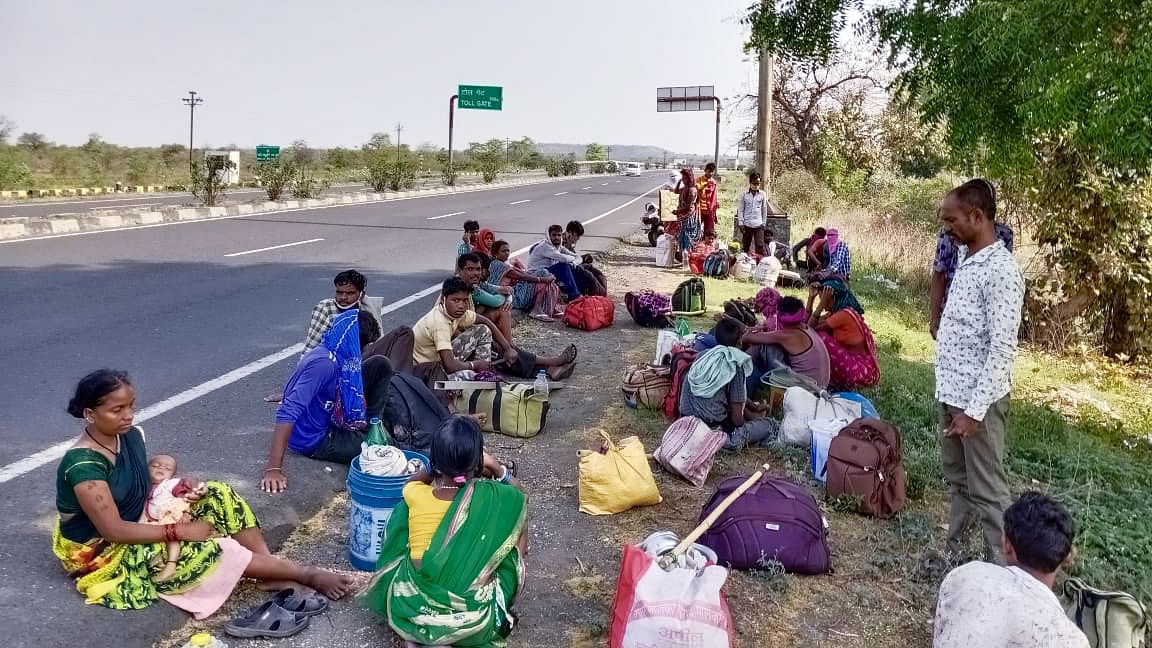 Migrant labourers in Chennai demand 2 months' salary before being sent home