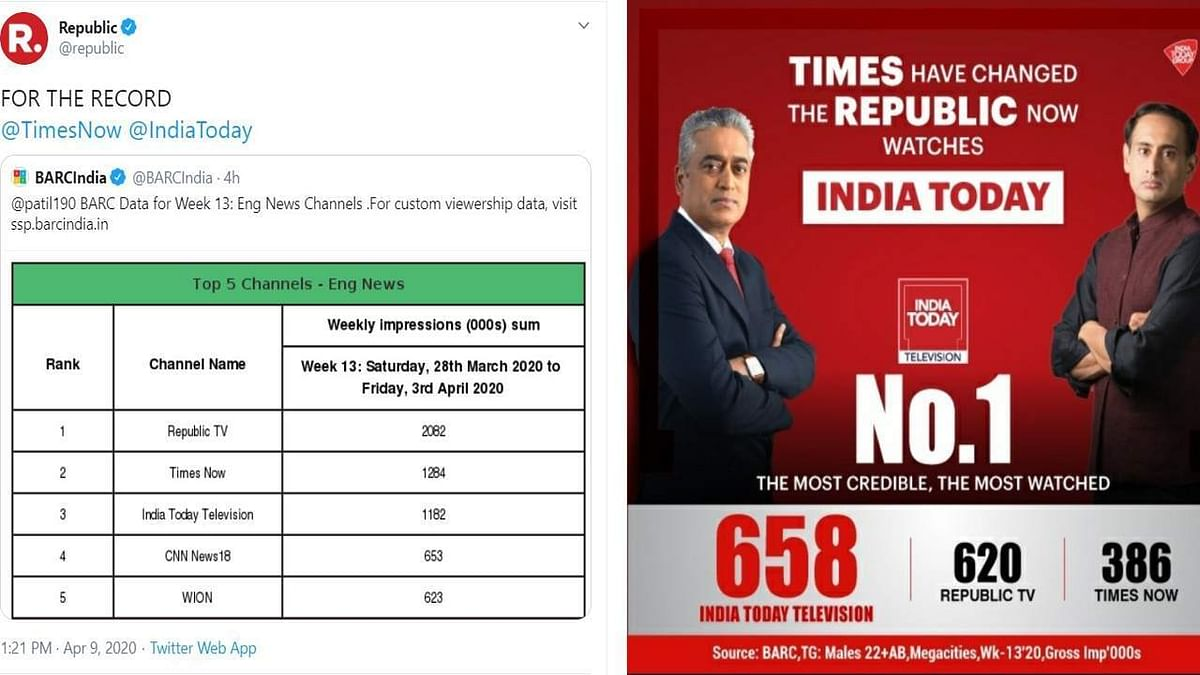 As Republic and India Today fight over BARC ratings, NDTV gets trolled