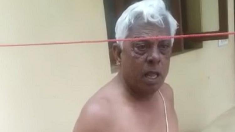 Shocking video of Chennai man hurling casteist rant at sanitation worker goes viral